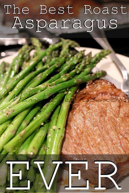 The Best Roast Asparagus EVER by MommyNamedApril, via Flickr