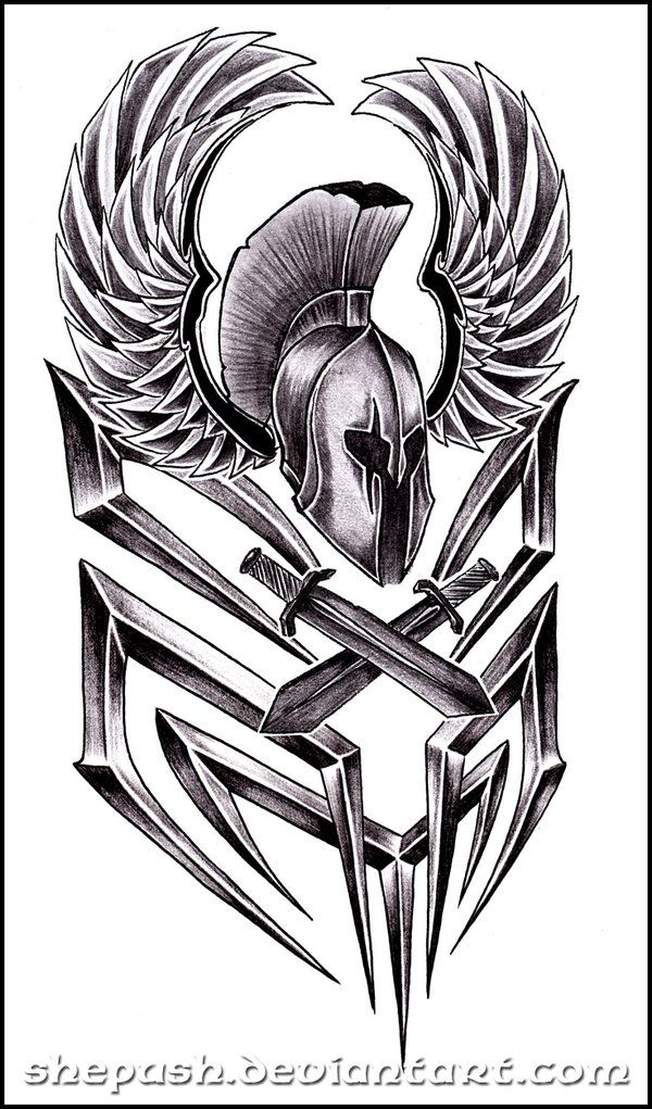 spartan 2 by shepush on deviantart ink pinterest tattoo tatting and spartan tattoo. Black Bedroom Furniture Sets. Home Design Ideas