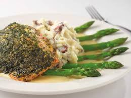 Cheesecake Factory Herb Crusted Salmon #salmonrecipes