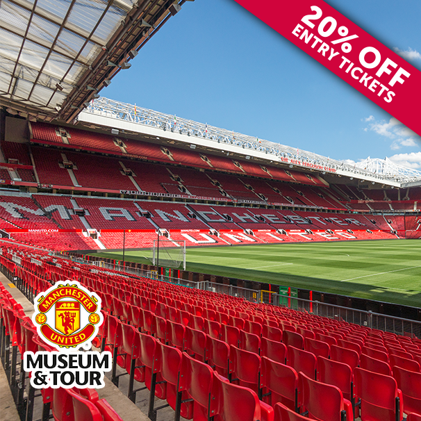 Manchester United Museum And Tour Voucher Manchester United Stadium Stadium Tour Manchester United