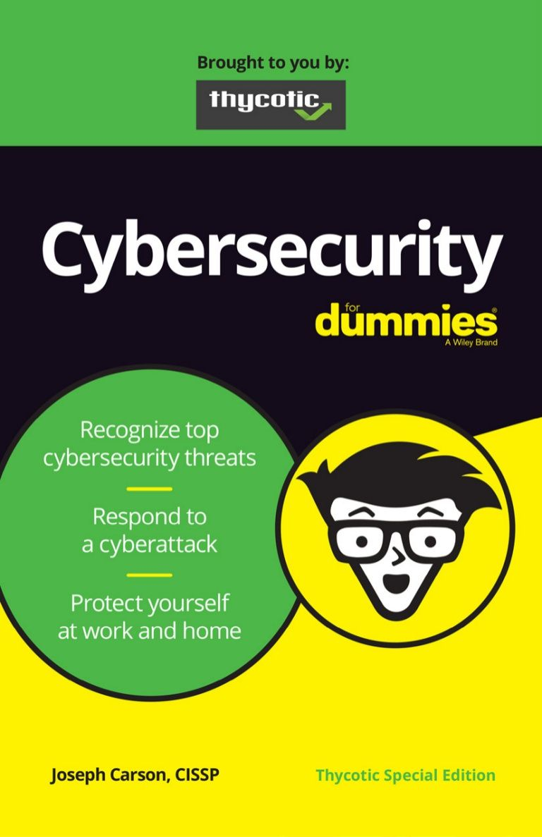 Liberteks Loves Cybersecurity For Dummies As A Tool To Have Digital And Security Based Conversations Cyber Security You At Work Dummy