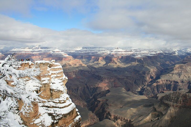 Was In The Grand Canyon In January After A Snow Fall Beautiful Visiting The Grand Canyon Grand Canyon Arizona Grand Canyon Winter