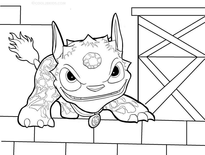 Printable Skylander Giants Coloring Pages For Kids | Cool2bKids ...