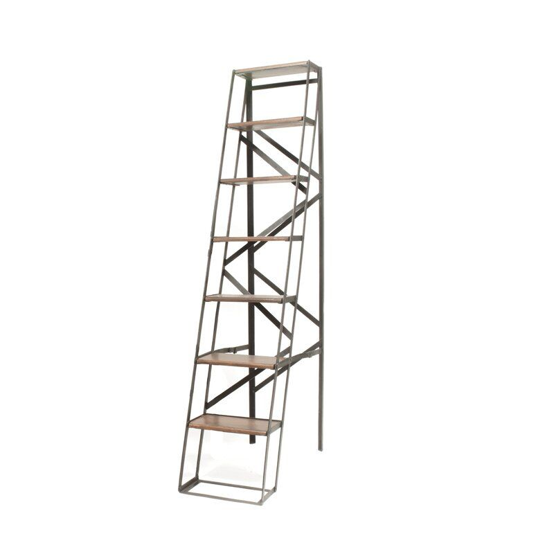 Wfx Utility 72 Wood Step Ladder Wayfair Wood Steps Step Ladders Ladder