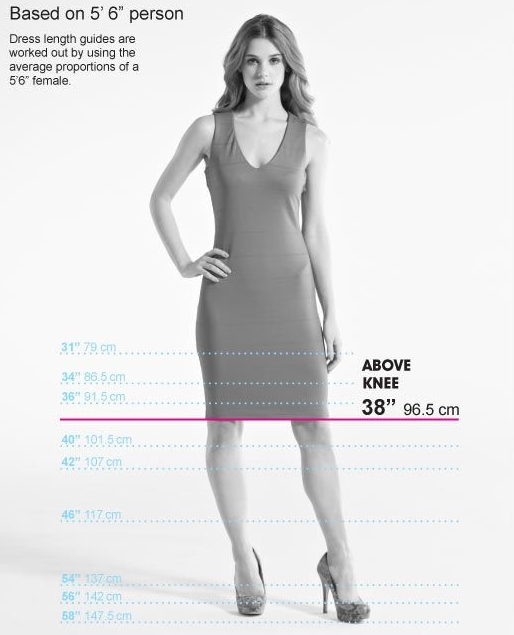 Very's dress lengths