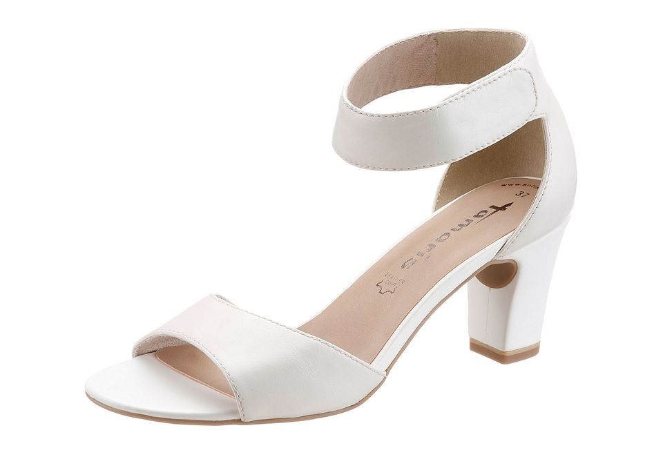 Tamaris Sandalette in weiß