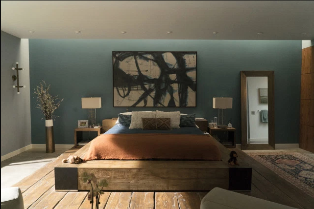 Bedroom of Celeste & Perry in Big LIttle Lies