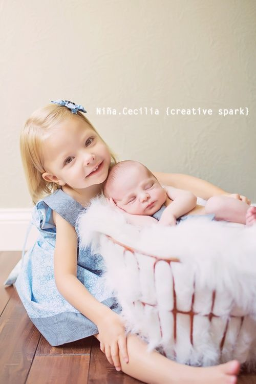 Sibling Photography Poses With Baby And Toddler My Photog