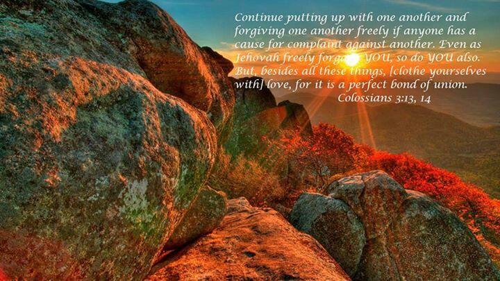 Colossians 3:13,14