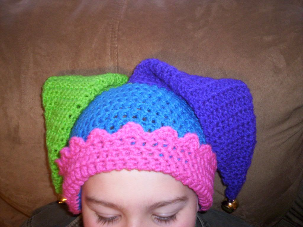 Crocheted Jester39s Hat Brandy See Landers That39s Right