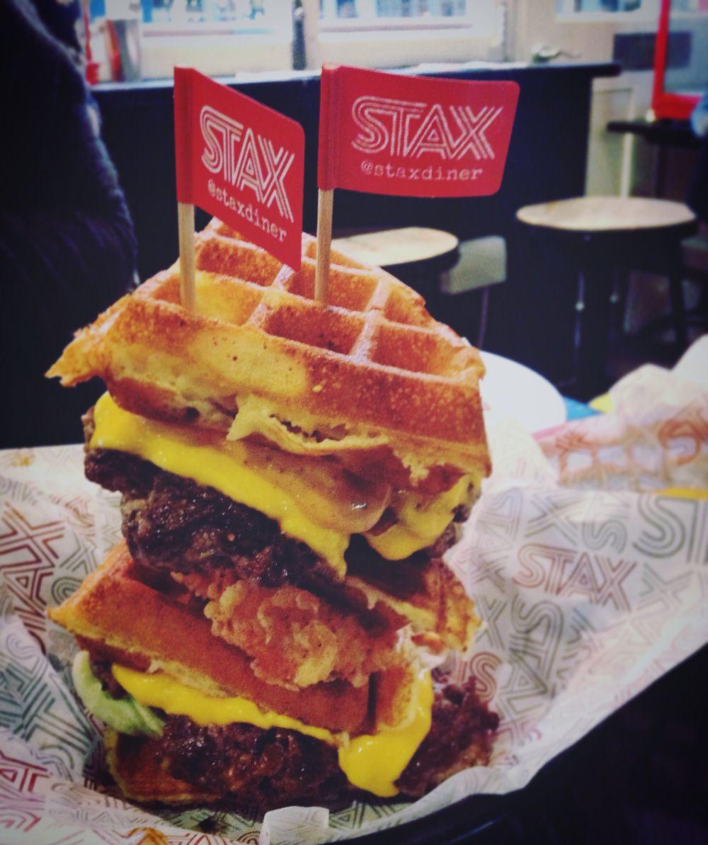 Stax Diner Secret Menu Burger Et Food Voyage London Food Restaurants Halal Burgers Food