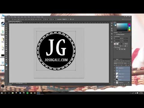 """360 Video Tutorial: Creating """"Token"""" To Cover Tripod/Nadir With Photoshop - YouTube"""