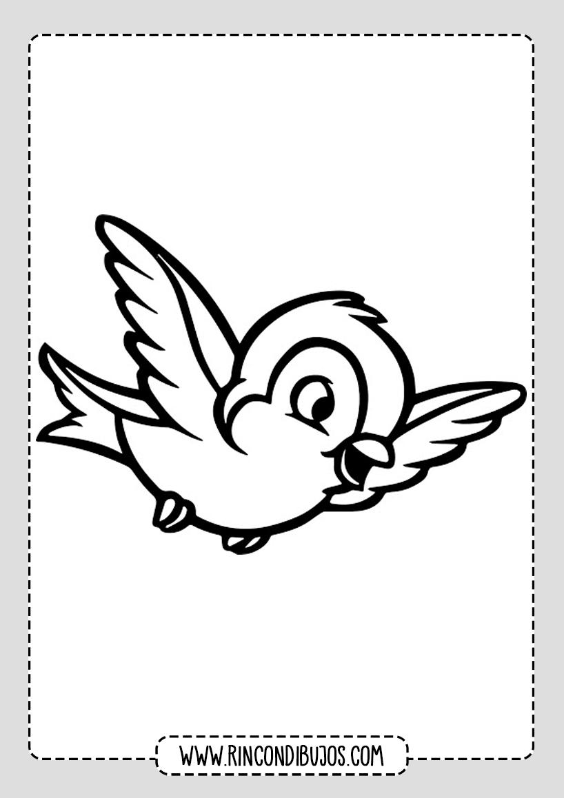 Dibujos De Pajaros Volando Para Colorear Rincon Dibujos Dibujos De Pajaro Pajaros Para Colorear Dibujos De Pajaros Volando