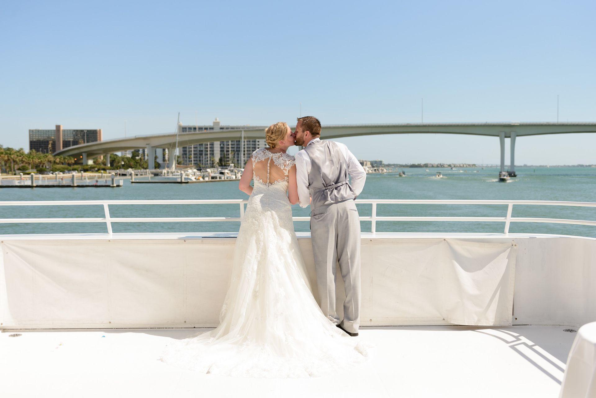 Nautical Spring Wedding at Yacht Starship Tampa, FL