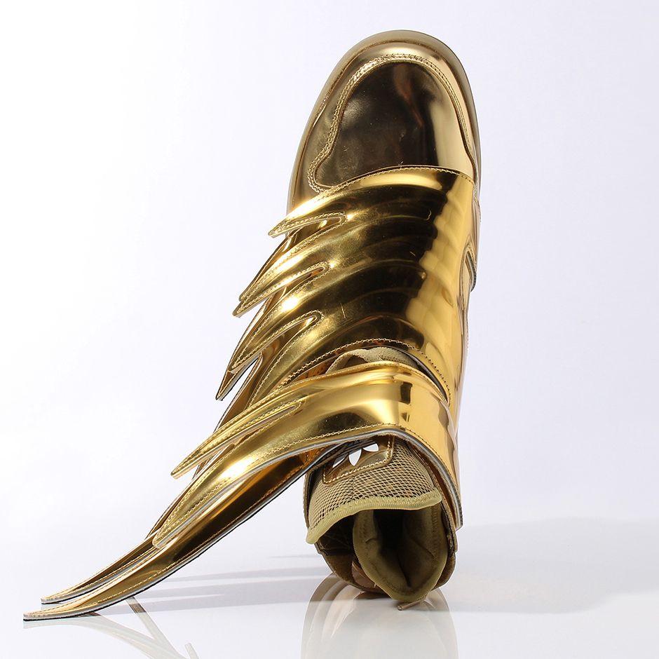 Jeremy Scott x adidas Originals JS Wings 3.0 Gold  387af1a046
