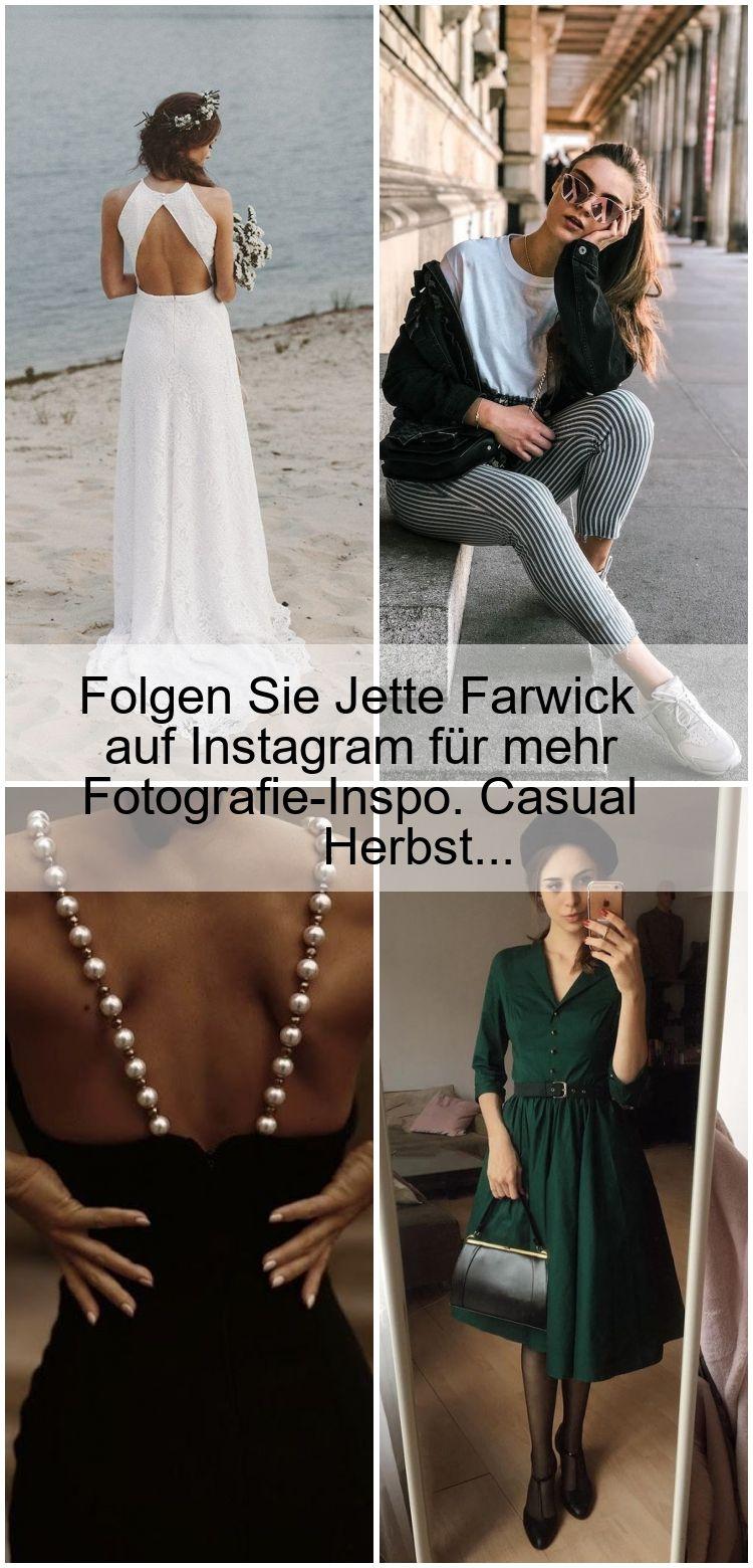 Folgen Sie Jette Farwick auf Instagram für mehr Fotografie-Inspo. Casual Herbst…
