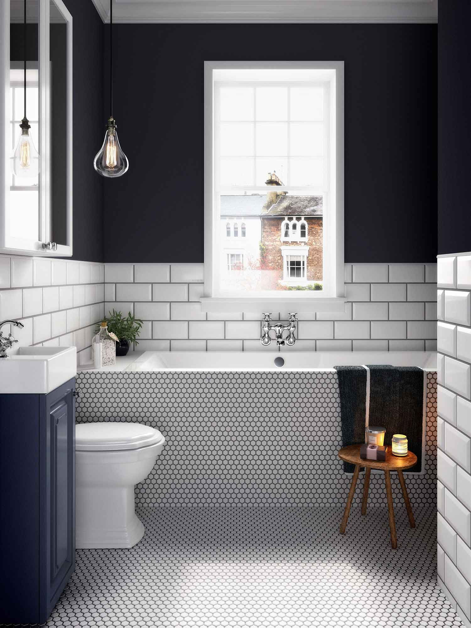 . A well decorated bathroom can do wonders to an interior design