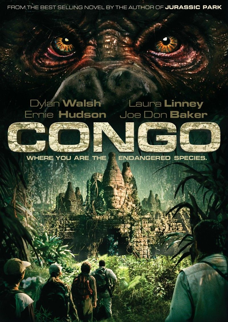 Congo 1995 D Frank Marshall Laura Linney Dylan Walsh Tim