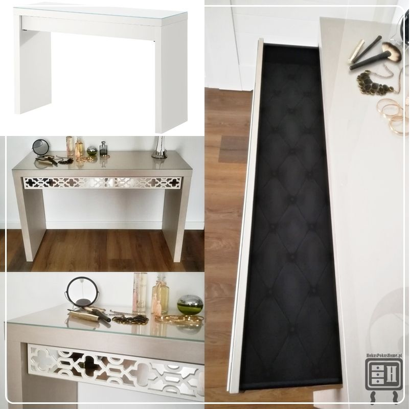 glamorous ikea malm bedroom inspiration   Toaletka lustrzana IKEA malm, meble lustrzane, metamorfoza ...