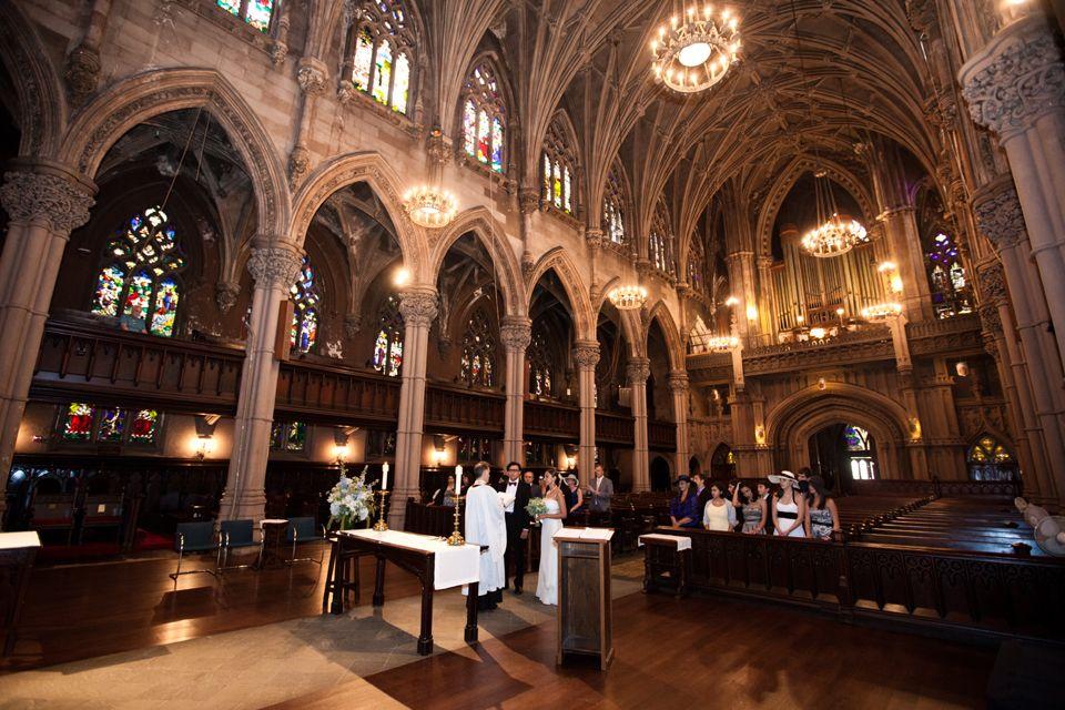 St Ann The Holy Trinity Church Brooklyn Wedding Ceremony
