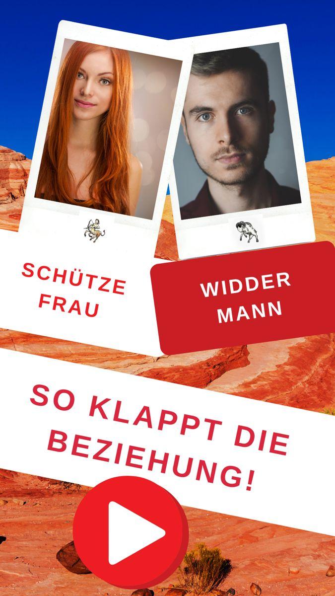 Widder-Mann & Schütze-Frau. - Liebe und Partnerschaft