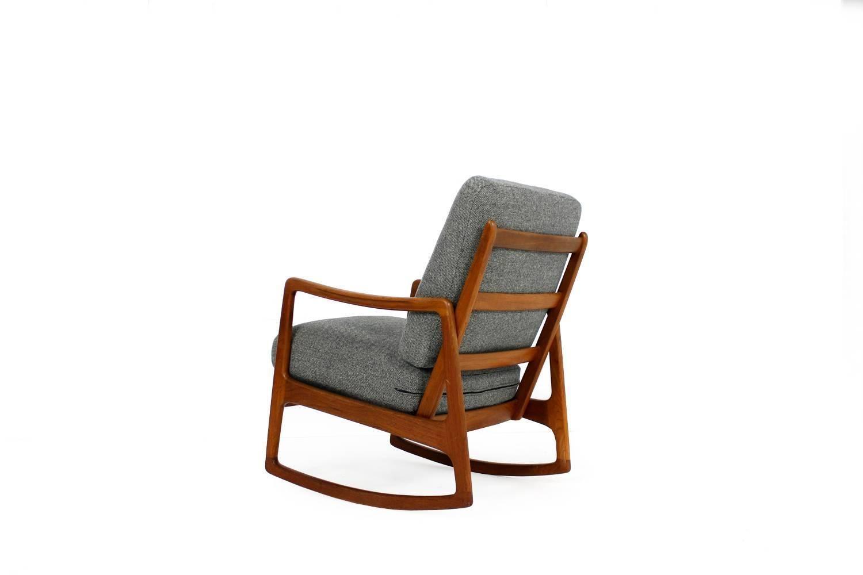Groovy Early Danish Ole Wanscher Teak Rocking Chair Mod 109 Rocker Lamtechconsult Wood Chair Design Ideas Lamtechconsultcom