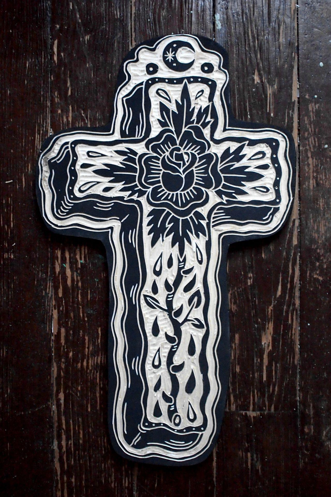 Small Acid Tattoo: Linocut Art, Linocut Prints, Woodcuts