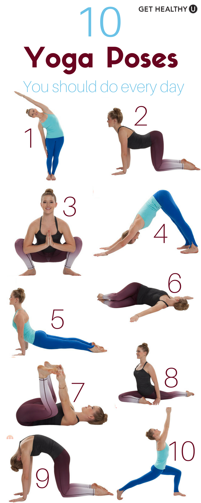 Check Out Our Simple Yoga Workout Weve Given You 10 Poses Should Do Every Day Can These Almost Anywhere At Anytime And WILL Feel