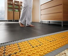 Electric Floor Warming System Schluter Systems Floor Heating Systems Flooring Heating Systems