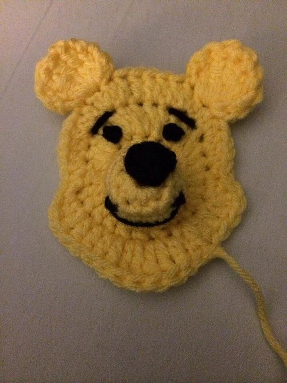 Winnie The Pooh Crochet Applique Pattern By Alidasyouwish On Etsy