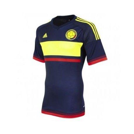 maillot colombie 2016 ext rieur maillot quipes nationales pas cher pinterest el. Black Bedroom Furniture Sets. Home Design Ideas