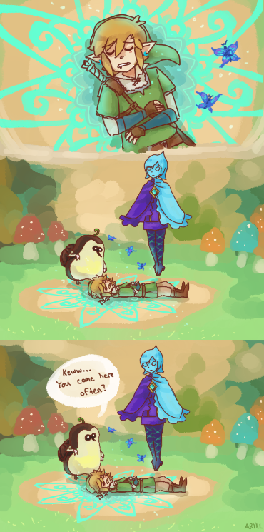 Small Talk By Phantommarbles On Deviantart Legend Of Zelda Zelda Funny Skyward Sword
