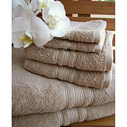 Charisma Bath Towels Extraordinary Charisma Linen Beige Premium Hygro Cotton 18Piece Towel Set  Home Design Inspiration