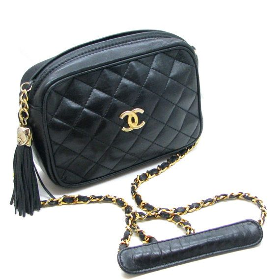 CHANEL quilted pocket bag vintage circa 1980s by PauletteVintage, €750.00