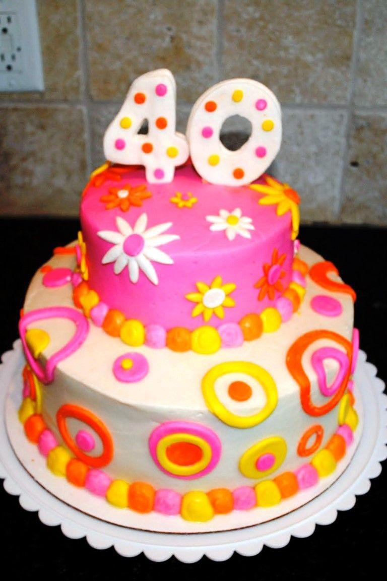 40th birthday cake ideas for women 2014 cake designs ideas - Birthday Cake Designs Ideas