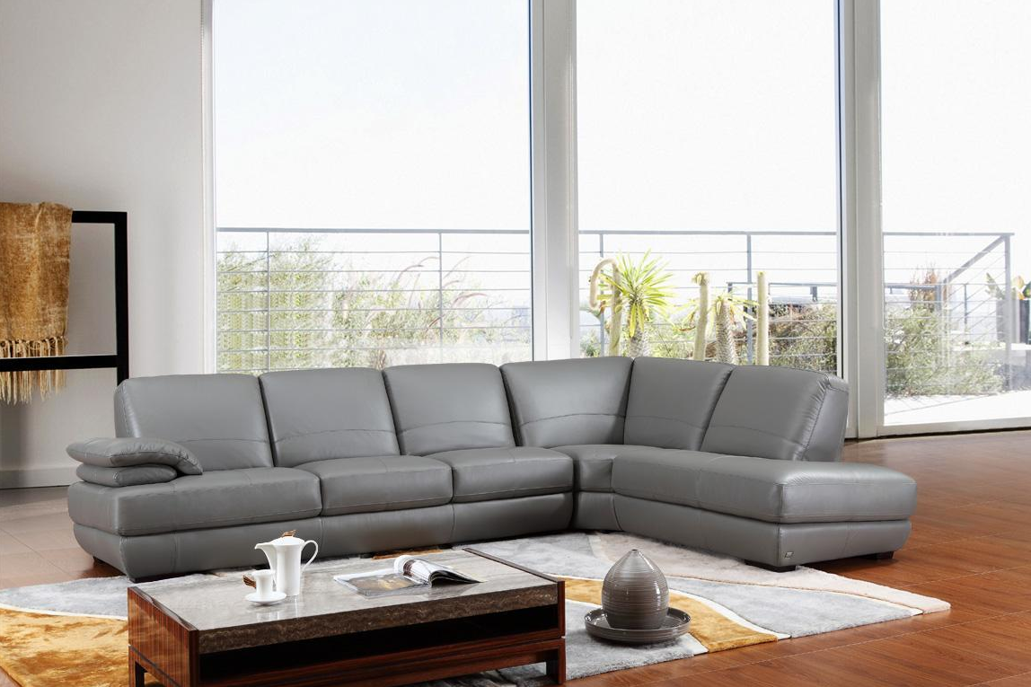 Gray leather living room furniture - Leather Sectional Sofa Beckham Ushaped Sectional Best Ideas Best Ideas About Gray Sectional Sofas On Pinterest Living Room