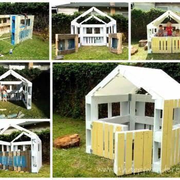 Pallet Kids Hut • 1001 Pallets