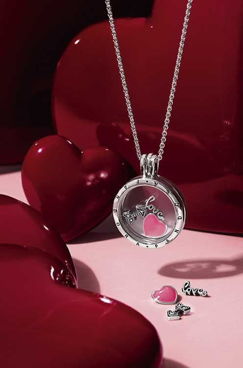 Design Your Own PANDORA Locket Featuring The Love