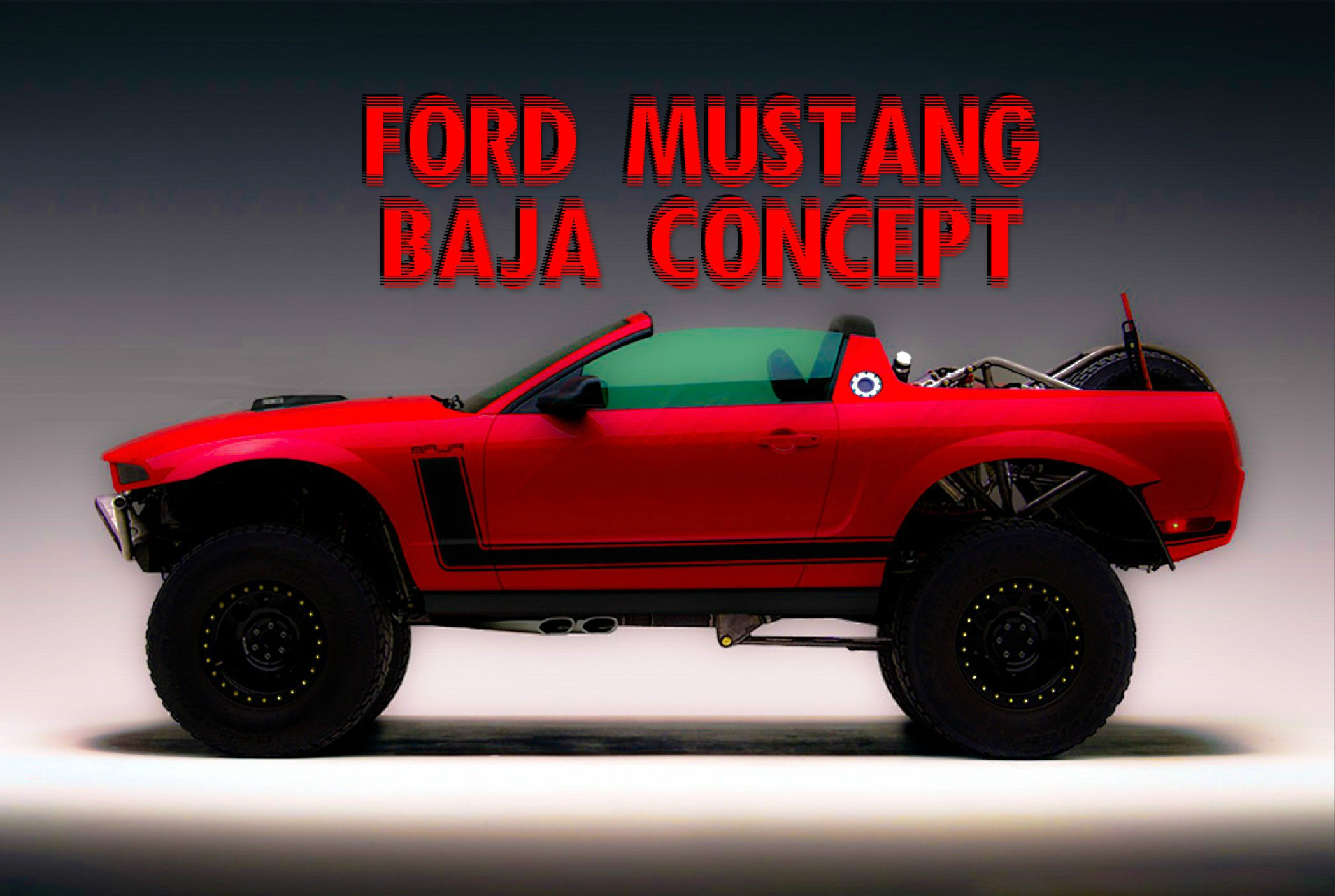 Ford Mustang Baja Concept. http://drivingline.com/articles/ford ...