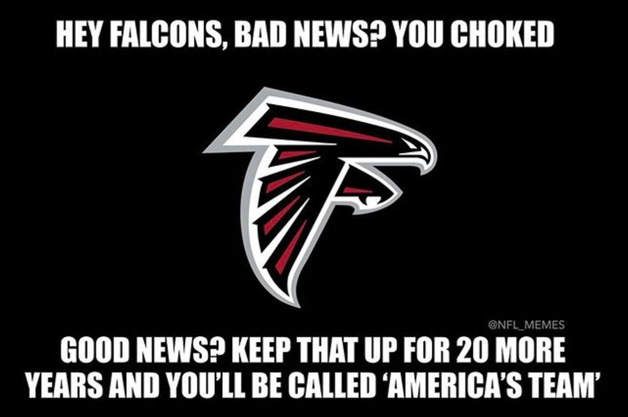 Busted Falcons Atlanta Falcons Nfl Memes