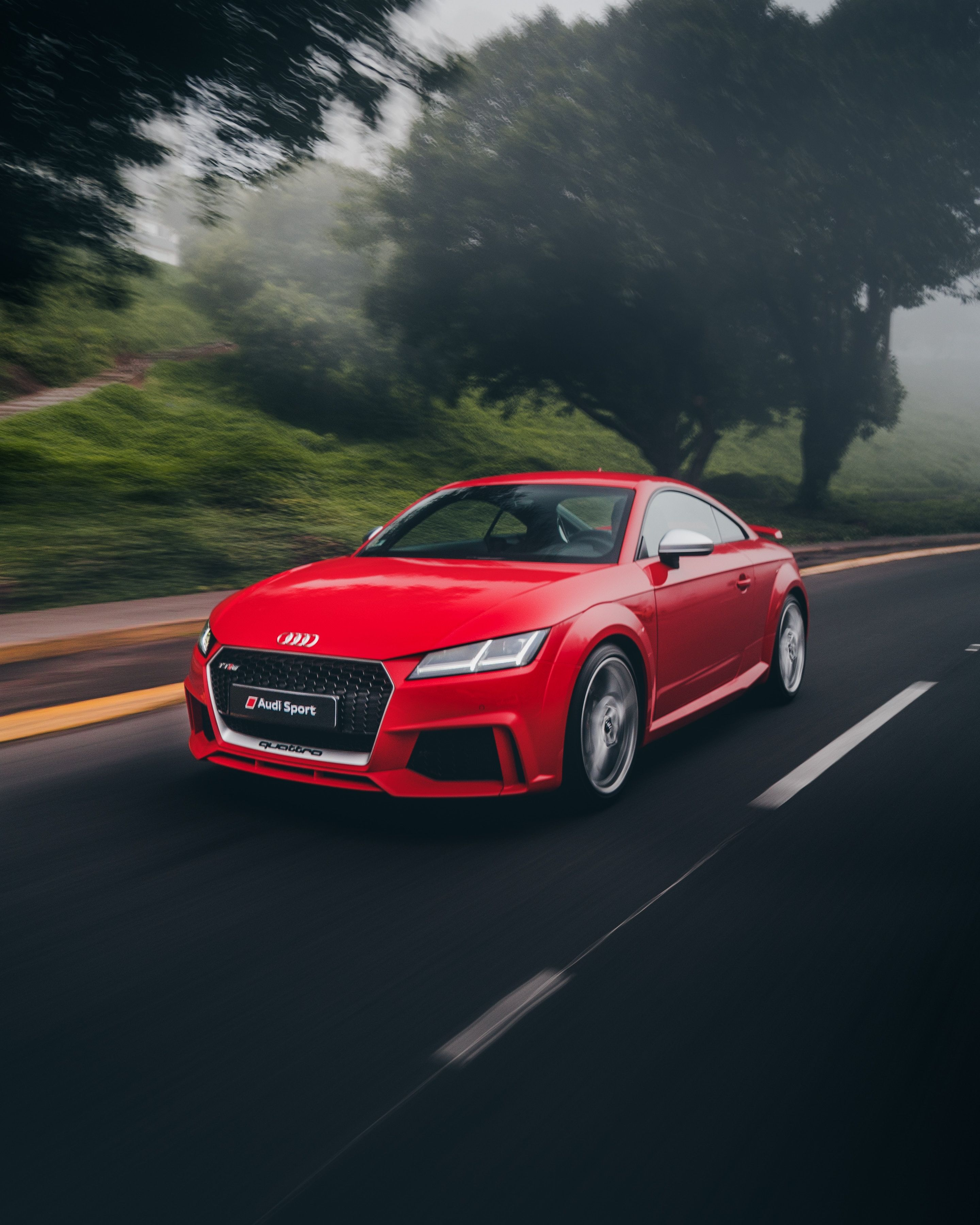 Audi Sports Car Give The Speed You Like With Images Red Audi