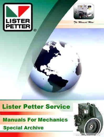 Lister Petter Giant Archive For Mechanics Mechanic Power Generator Engineering