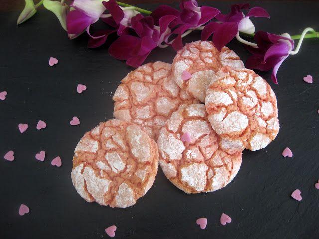 A falta de Lexatín...buenas son tortas: Strawberry Crinkle Cookies