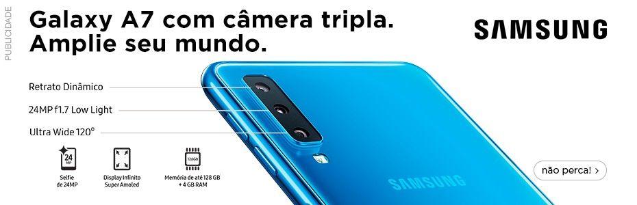 f8538cd5d Lançamento confira os melhores preços agora  smartphone  samsung  a7   oferta  promoção