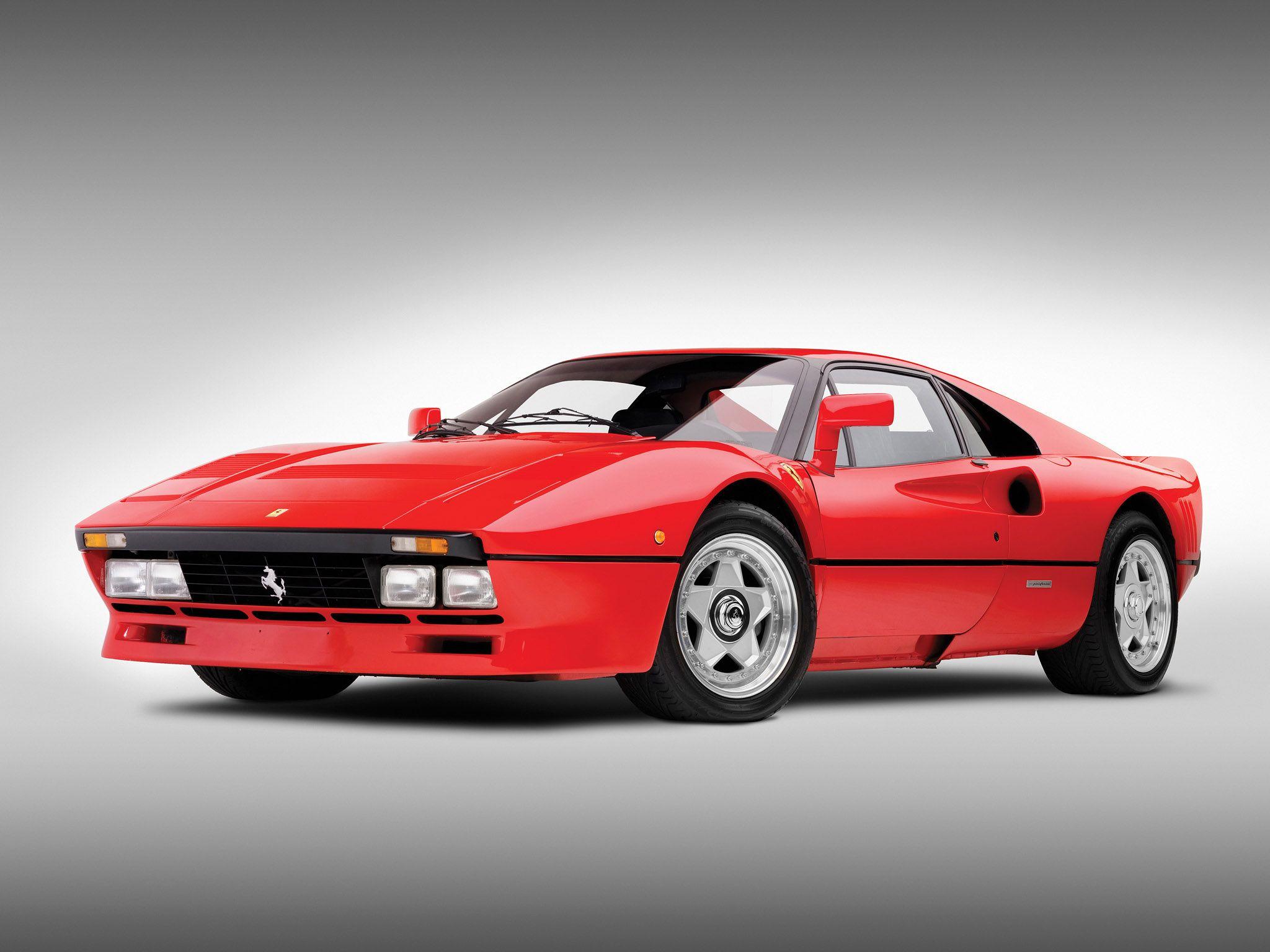 old ferrari 1985 Ferrari 288 GTO classic supercar supercars h