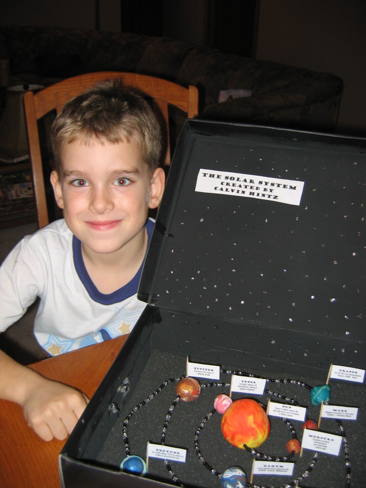 Solar System in a Box Pics about space