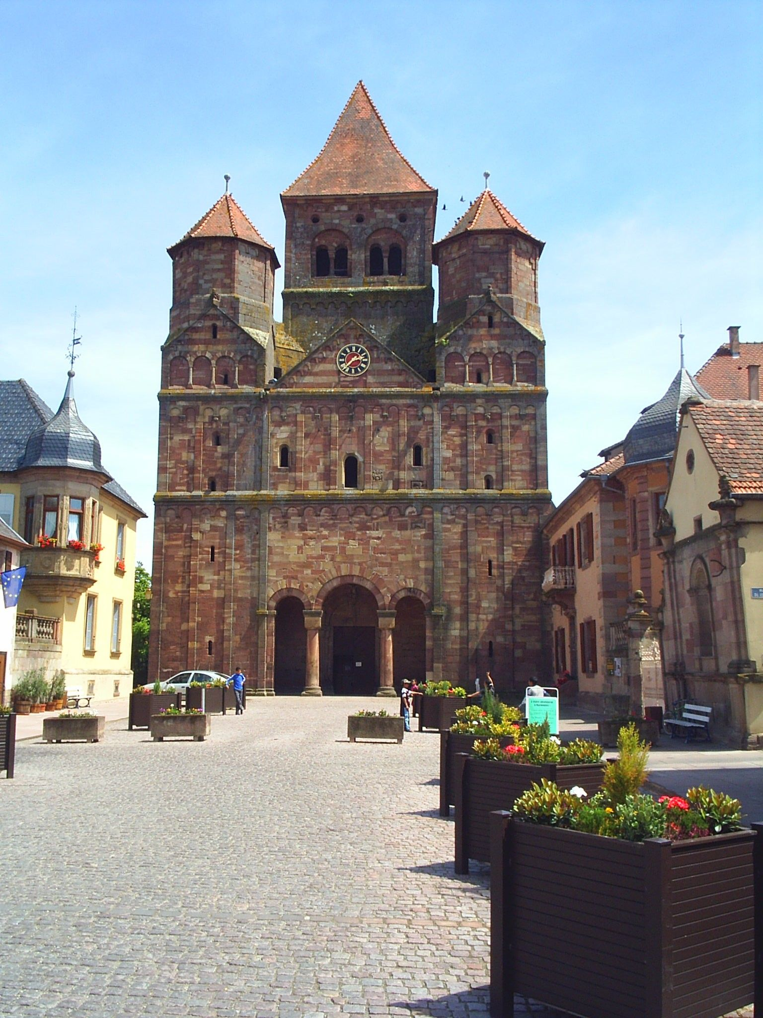 Abbaye SaintEtienne de Marmoutier France
