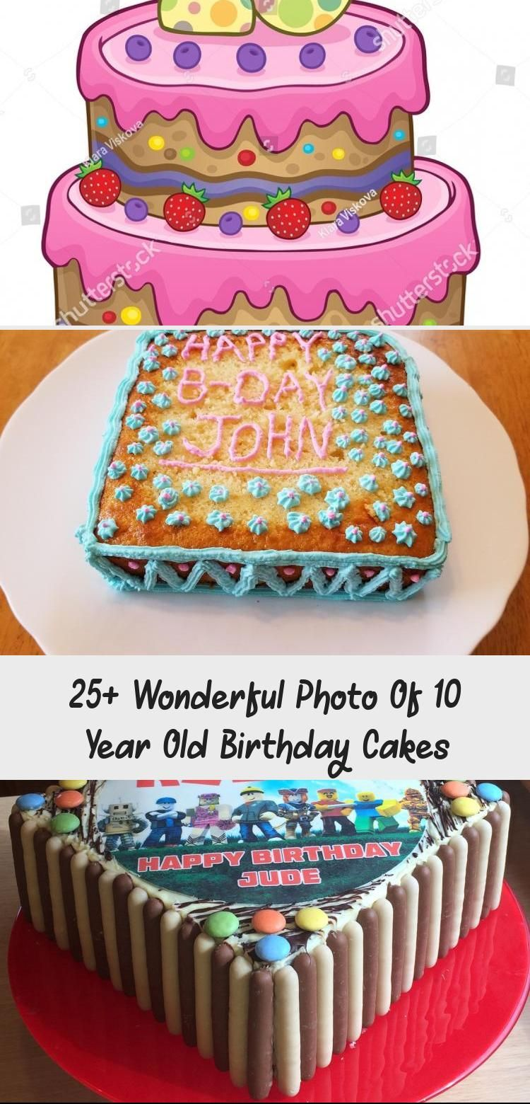 25 Wonderful Photo Of 10 Year Old Birthday Cakes 10 Year Old Birthday Cakes Cake Designs For 10 Birthday Cake 21st Birthday Cakes Little Girl Birthday Cakes