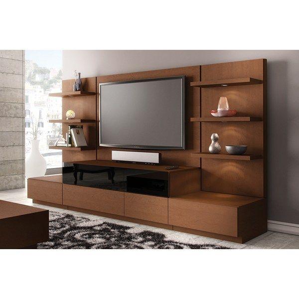 Jsp Furniture: JSP Industries Modena 6-Piece Entertainment Center