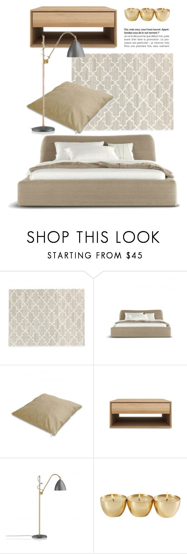"""""""Bedroom Decor"""" by lovethesign-eu ❤ liked on Polyvore featuring interior, interiors, interior design, home, home decor, interior decorating, Gubi, bedroom, Home and homeset"""
